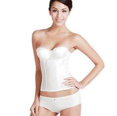 Bi.tencon Wedding Underwear Shapewear Strapless Bustier White Bridal Corset Top S Bi.tencon http://www.amazon.com/dp/B00IIQFL84/ref=cm_sw_r_pi_dp_p54Xvb18VCD8B