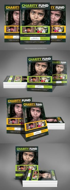 Charity Donation Flyers