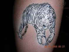 Download image White Tiger Tattoo PC Android iPhone and iPad ... Twitter Profile Picture, Twitter Image, Leg Tattoos, Black Tattoos, White Tiger Tattoo, Homemade Tattoos, Abstract Tattoo Designs, Airbrush Tattoo, Pc Android