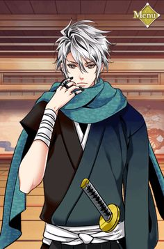 Hotaru.. Saizo's way too cute little brother.. The handsomeness must run in the family.. HotaruEventStory #MomentsStolenInShadows #HiddenAwayWithYou #NinjaEventStory Until 4/11/2017