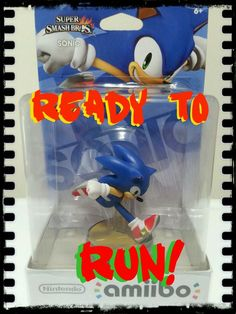 SONIC Amiibo (New/Sealed), USA VERSION, Nintendo US Figure IN HAND in Video Games & Consoles | eBay