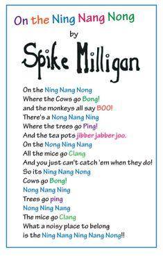 On the Ning Nang Nong - Spike Milligan