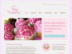 Moonfruit Template - Bakery #website #design