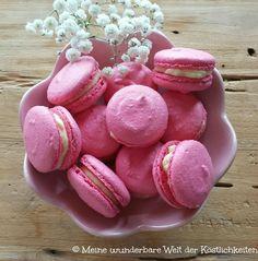 Holunderblüten Macarons - Meine wunderbare Welt der Köstlichkeiten