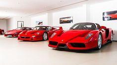 Three of the most iconic supercars in history! Fantastic photos taken at our @DickLovett Swindon showroom last year.  #DickLovett #Ferrari #Swindon #Supercar #F40 #F50 #Enzo #Instacar #DreamCar #DreamGarage