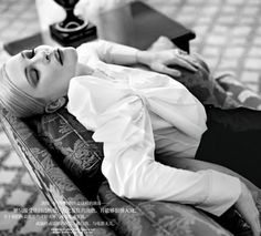 Cate Blanchett by for Harper's Bazaar China