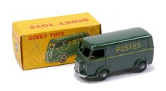 """French Dinky no.25 bv  Peugeot """"POSTES"""" Delivery Van"""