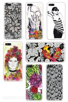 Drying ideas for phone cases Doodles Zentangles, Zentangle Patterns, Zen Doodle, Doodle Art, Doodle Designs, Flower Doodles, Sketchbook Inspiration, Learn To Paint, Art Plastique