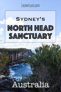 Travel Australia | Travel Sydney | Walking Sydney | Day Trips Sydney | Sightseeing | New South Wales | Australia | Sydney | Holidays Australia | North Head Sactuary via @Delphine LesterLost