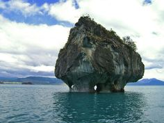 The Marble Caves, at General Carrera Lake, Chile