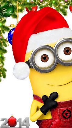 2014 Minions Christmas is upon us … can't wait to see what we get.  Bananas? #Minion ...