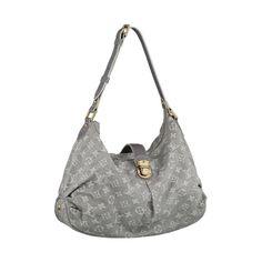 Louis Vuitton Slightly Denim Grey Shoulder Bags Yes please!