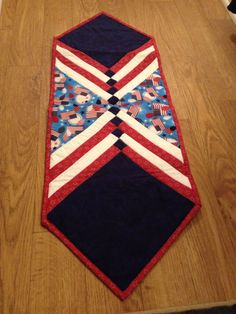 Celebrate America Flag Balloon 4th of July Table Runner READY TO SHIP by BagsByBetty54 on Etsy https://www.etsy.com/listing/189112747/celebrate-america-flag-balloon-4th-of