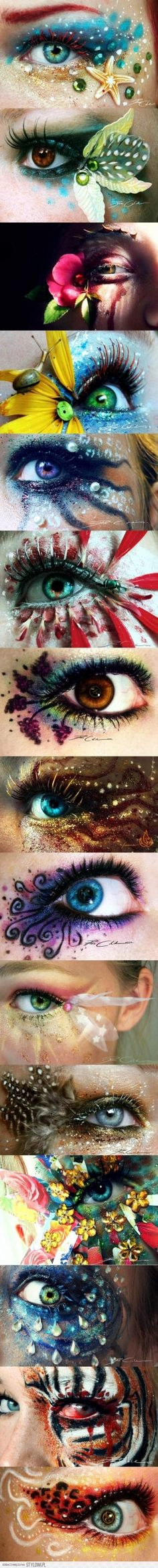 WOW!!! Now this is MAKE-UP! Im so much in love with it 3
