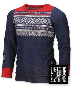 Norwegian wool from Uglycc. Genser fra Uglycc. Kjøpes på barnogleker.no