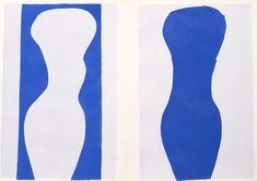 "Henri Matisse """" Jazz ""9 form"" 1947 stencil, paper 40.8 x 57.7 cm holdings: Kanagawa Prefectural Museum of Modern Art"