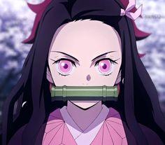 kimetsu no yaiba Nezuko Kamado art #kimetsunoyaiba #NezukoKamado #anime