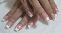 squoval nails pictures | Personally, I think this looks best with a rounded square nail shape ...