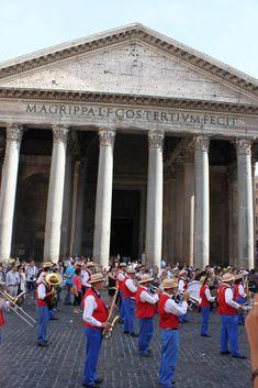 Pantheon Street View, Italy, Italia