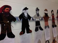 Connecting social studies with literacy and meeting so many standards! -EM Grade Explorer Unit-- Students were each assigned an explorer. They researched facts and created a visual representation of their explorers. Social Studies Projects, 3rd Grade Social Studies, Social Studies Classroom, Social Studies Activities, Teaching Social Studies, Teaching History, History Teachers, History Classroom, Explorers Unit