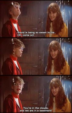 Stef and Andie – Maggie Cook – Hair Clips 80s Movies, Great Movies, Awesome Movies, Tv Quotes, Movie Quotes, Status Quotes, Steven Spielberg Movies, Film Poster Design, Adventure Film