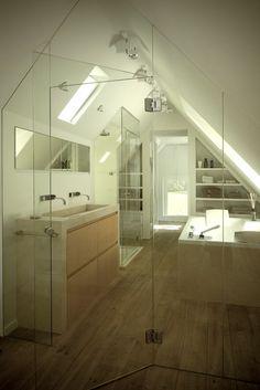 gorgeous and bright ensuite bathroom