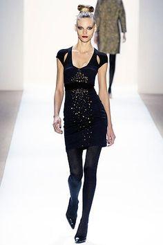 Monique Lhuillier Fall 2007 Ready-to-Wear Fashion Show - Fabiana Semprebom
