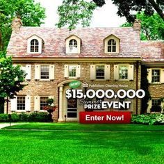 i jcg claim pch vip Instant Win Sweepstakes, Online Sweepstakes, Pch Dream Home, Dream Homes, Win A House, Lotto Winning Numbers, 10 Million Dollars, Win For Life, Lottery Winner