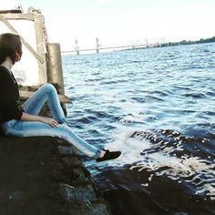 #photo #nature #girl #water #river #Arkhangelsk  #Russia #природа #река #СевернаяДвина  #Архангельск #Россия