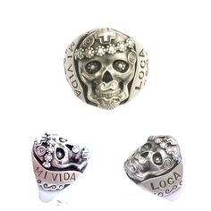 Ya it's pretty, but $400+ for a silver ring is ridiculous.  R13 Mi Vida Loca Ring (My Crazy Life) Sterling Silver Skull Day of the Dead Dia de los Muertos Ring