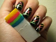 Striping Tape Nail Art China Glaze Grillednails Grilled Nails Hector