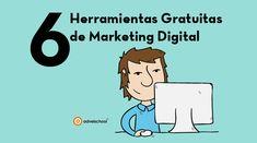 Herramientas Gratuitas de Marketing Digital para las acciones diarias en el mundo online.Seguro que las utilizas en tu día a día.
