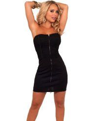 #Strapless Corset Animal Embossed Cocktail party fashion #2dayslook #new style #partyforwomen www.2dayslook.com