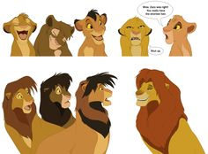 My how the things have changed! Haha #Simba King of Beasts by kourukon.deviantart.com