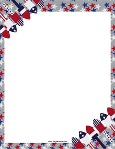 Printable American flag border. Free GIF, JPG, PDF, and ...  Printable Ameri...