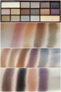 MAKEUP REVOLUTION I HEART MAKEUP DEATH BY CHOCOLATE PALETTE SWATCHES AND REVIEW