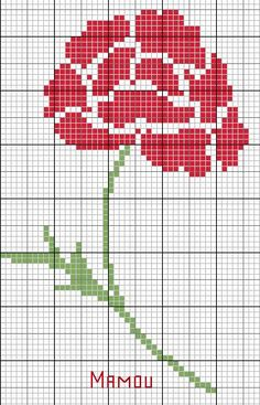 rose cross stitch could be a quilt design! Cross Stitch Tree, Cross Stitch Borders, Cross Stitch Flowers, Cross Stitch Designs, Cross Stitching, Cross Stitch Patterns, Embroidery Applique, Cross Stitch Embroidery, Embroidery Patterns