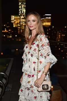 Georgina Chapman attends the after party for the screening of IFC Films'…