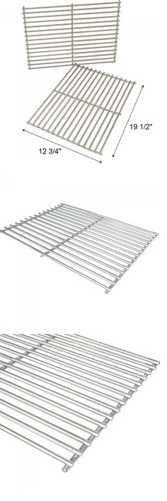 bbq and grill replacement parts replacement weber cooking grates stainless steel 2 sets - Stainless Steel Grill Grates