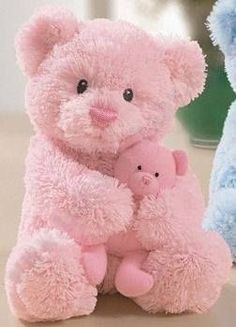 pink teddy pink pink pink love pink rock the pink Bella DeLuxe Pink Love, Pretty In Pink, Hot Pink, Color Rosa, Pink Color, Colour, Little Doll, Little Girls, Vintage Pink