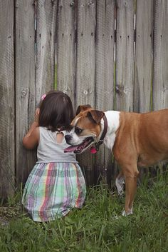 Boxer and little girl, Joanna Moore Photography, best friends  Orlando dog photographer