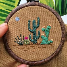 Grand Sewing Embroidery Designs At Home Ideas. Beauteous Finished Sewing Embroidery Designs At Home Ideas. Embroidery Designs, Cactus Embroidery, Embroidery Materials, Hand Embroidery Stitches, Silk Ribbon Embroidery, Modern Embroidery, Embroidery Hoop Art, Vintage Embroidery, Embroidery Sampler