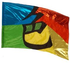 fi515 Color Guard flag from The Band Hall
