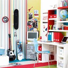 Kinderzimmer Wohnideen Möbel Dekoration Decoration Living Idea Interiors home nursery - Teenager Rehearsal cum Schlafzimmer
