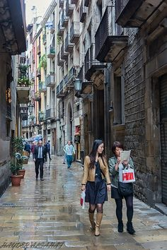 Old Town - Barcelona, Spain