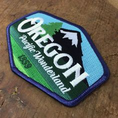 Meownt Hood OregonEmbroidered Patch