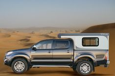 Pickup cellule camping car