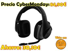 #CyberMonday Auriculares gaming Logitech G533: sonido envolvente, DTS 7.1, inalámbricos http://amzn.to/2iVlcYn