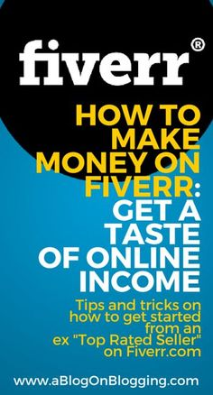 How To Make Money On Fiverr: Get A Taste Of Online Income - Fiverr Outsource - Outsource your work on Fiverr and save your time. - How To Make Money On Fiverr: Get A Taste Of Online Income Online Income, Earn Money Online, Online Jobs, Earning Money, Online Cash, Hack Online, Online Earning, Work From Home Moms, Make Money From Home