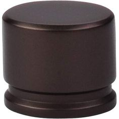 """Oval Knob Large 1 3/8"""" - Oil Rubbed Bronze"""